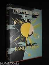 SIGNED & INSCRIBED: Paul Capon - The Other Side Of The Sun - 1950-1st SF Novel