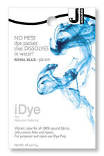 Jacquard iDye Fabric Dye Natural Fibres  14g  - Royal Blue