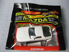 MAZDA RX-7 WHITE FC3S Kyosho 1:100 Scale Diecast Model Car ..