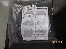 New OEM Mopar 07-18 JK Jeep Wrangler Freedom Top Panel Storage Bag 68087383AA