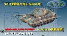 威龍坦克cando dragon tank WWII King Tiger Sd.Kfz.182 Henschel Late Turret sPzAbt 511