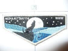 OA Nisha Kittan Lodge 114,S-3,2012, 9 Star Flap,Wolf,32,81,Lewis & Clark Cncl,IL
