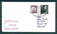 Allemagne - Germany - Enveloppe 1980 - Frégate H.M.S. Torquay