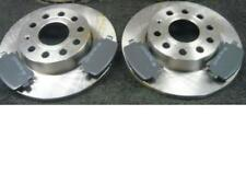 FOR VW TOURAN 1.6 2.0 1.9 1.4 03-ON REAR MINTEX BRAKE DISCS AND PADS