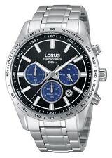 Lorus Caballeros Pulsera De Acero Inoxidable Cronógrafo Reloj RT347DX9