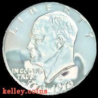 1976-S Eisenhower Bicentennial Silver Dollar DC GEM PROOF
