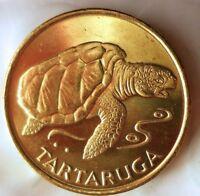 1994 CAPE VERDE ESCUDO - AU - TURTLE - Exotic Coin - FREE SHIPPING - BIN #HHH