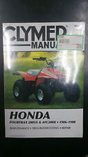 New Clymer Service Manual Honda FourTrax 200SX & ATC200X 1986-1988 M347
