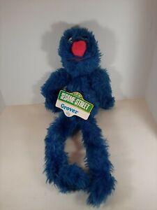 """24"""" Grover Sesame Street Muppet Plush Toy Knickerbocker VTG NWT 1976"""