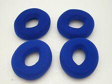 4 pcs BLUE Foam Doughnut EarCushion for Plantronics H51N H61N H91N HW251N HW261M