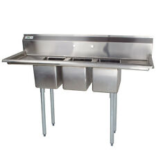 Eagle Group 310-10-3-12-X 310 Series Convenience Store Sink 3 Compartment