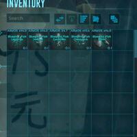 ark survival evolved pc pve 720+ Durability Ascendent Metal Armor Blue Print Bp