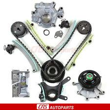 Timing Chain Kit Oil Pump Water Pump For 99-04 Dodge Jeep 4.7L SOHC JTEC Vin N