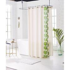 Threshold LEAF Green Grape Stripe Shower Curtain