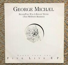 "George Michael Killer/Pap Was A Rollin' Stone 12"" Vinyl Excellent Condition"
