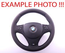 BMW 1 3 3 E81 E82 E87 E90 E91 E92 E93 NEW Leather M-Sport Thick Steering Wheel