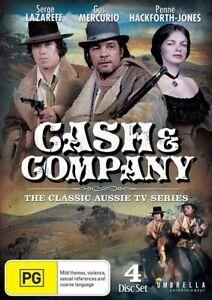 Cash & Company (DVD, 2014, 4-Disc Set) Like New! Region All