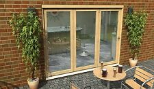 BIFOLD PATIO DOORS - 2.7m (9ft) 54mm - 1.4 U VALUE - SUPPLIED UNFINISHED