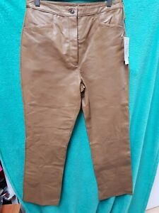 Real leather trousers BNWT