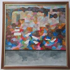 MYSTERY ARTIST SURREALISM PAINTING ABSTRACT CUBISM POP EXPRESSIONISM MODERNISM