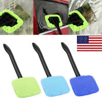 Microfiber Windshield Clean Auto Car Wiper Cleaner Glass Window Brush Tool Kit