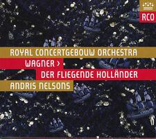 WAGNER: DER FLIEGENDE HOLLÄNDER Terje Stensvold, Andris Nelsons, 2 CDs, wie neu