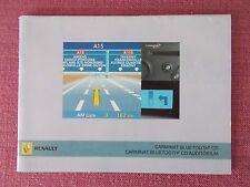 Renault Carminat Sat Nav y Audio Manual. Clio Megane Scenic Trafic. (ACQ 5607)