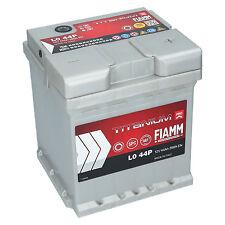 Autobatterie FIAMM TITANIUM PLUS 12V 44Ah 390A/EN PREMIUM BATTERIE
