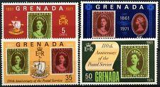 Grenada 1971 SG#450-3 Postal Service 110th Anniv MH Set #D87747
