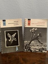 VTG 2PC Kodak Advanced-Data Books Photographic Papers & Infrared & Ultraviolet