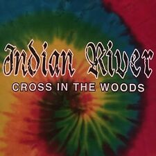 catholic shrine INDIAN RIVER CROSS IN WOODS t shirt-GROOVY TIE DYE-nwt NEW--(L)