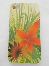 iPhone 4G/ 4GS Hard Phone Shell Case in Flowery pattern - New & Sealed