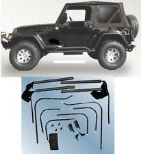 Rampage Complete Soft Top & Hardware Kit 1976-1995 68035 for Jeep Wrangler CJ-7