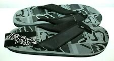 FOX BLOCKER FLIP FLOP SANDALS GRAY SIZE 12 MEN