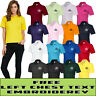Personalised Embroidered Ladies Polo Shirt Uniform,Workware,Your Text Name-UC106