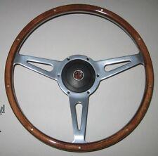 "New 15"" Laminated Wood Steering Wheel & Adaptor Hub Boss MGA 1955-1962"