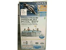 Intex 15ft X 42in Prism Frame Pool Set - 26723Eh
