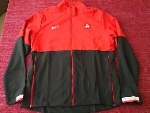 Nike On Field Ohio State Buckeyes Full-Zip Coaches Jacket CQ5951-657 Mens Large
