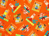 """20"""" REMNANT  LE BUDDIES  MINIONS  DESPICABLE ME COTTON FABRIC QUILTING TREASURES"""