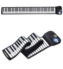 Honey Joy Hand Roll Up Piano 88 Key Electronic Roll Up Silicone Piano Keyboard