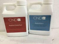 CND RETENTION + Plus OR Radical solar Nail  Sculpting Liquid 16 oz/473mL