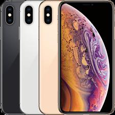 "Apple iPhone XS 64GB 256GB 512GB All Colours Unlocked Grade A ""eBay Very Good"""