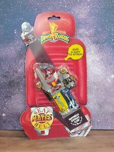 Vintage 90's Mighty Morphin Power Rangers Seat Belt Mates Megazord Figure MMPR
