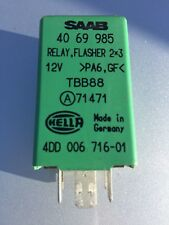 Genuine Saab Flasher Relay Part No 4069985 Green For Saab 9000