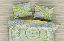 Ombre Mandala Pillow Cases Sham Indian Cotton Cushion Cover Bohemian Bed Decor