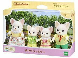 Sylvanian Families CHIHUAHUA FAMILY Epoch Calico Critters