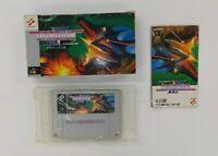 GRADIUS 3 Ⅲ Nintendo Super Famicom with box  SFC SNES Japan USED