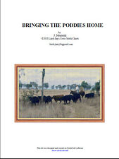BRINGING THE PODDIES HOME - cross stitch chart