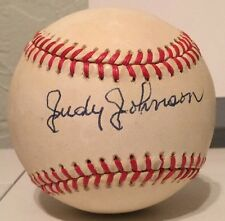 "Judy Johnson Autographed Baseball JSA Full Letter ""Sweet Spot"""