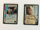 Autographed X-FILES CCG signed LONE GUNMEN  and SKINNER cards - VERY RARE XFCCG